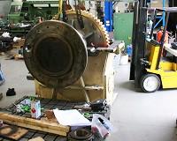 120 tonne closer capstan gearbox